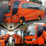 medium bus orange